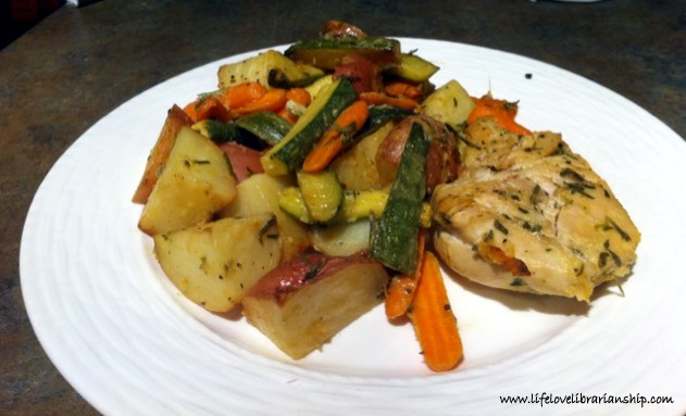 Recipe: Roasted Rosemary Chicken and Vegetables - Adventures in Life ...