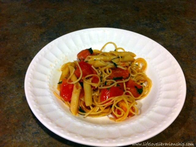 tomato herb pasta