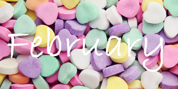 February Candy Hearts