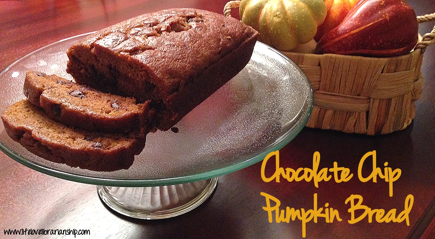 Chocolate Chip Pumpkin Bread | Adventures in Life, Love, and Librarianship